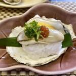 119792557 - Aコース4品目、牡蠣寿司
