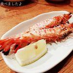 Sakabayamato - 車エビの塩焼き180円