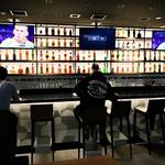 EXBAR TOKYO - バーカウンターもあります