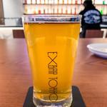 EXBAR TOKYO - 自分で注いだビール