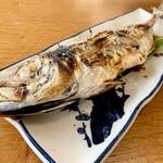 浜茶屋 協栄 - 鯵塩焼き