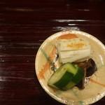 御料理 古川 - 香の物