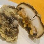 天冨良 いわ井 - 椎茸の小海老詰め