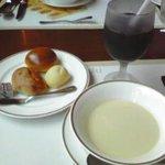 ベーカリーレストランサンマルク 蕨塚越店 - サンマルク帆立スープ