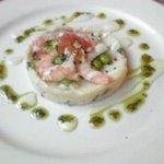 ベーカリーレストランサンマルク 蕨塚越店 - えびとポテトのサラダ