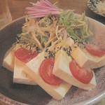 南樂 - 島豆腐のサラダ