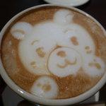 THE CAFE - ☆クマさんも思い切って飲んじゃいますぅ(^v^)☆