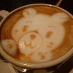 THE CAFE - ☆顔のカタチを壊さないようにそぉーっと飲みましたぁ(笑)☆