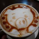 THE CAFE - ☆ブタさんもそぉーっと(*^。^*)☆