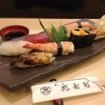 旭寿司 - 中にぎり