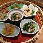蕪屋 - 京野菜おばんざいの籠盛り