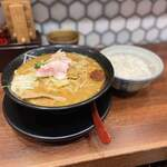 蔵味噌ラーメン 晴っぴ - 料理写真:辛味噌