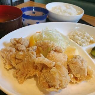 省吾 - 料理写真:しょっつる空上げ定食