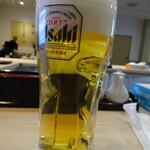 笑びす - ビール ¥390+税
