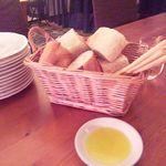 11981971 - 突き出し?のパンとグリッシーニの盛り合わせ