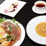 森の中のレストラン こどう - 料理写真:ランチセットイメージ