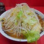 119811262 - 小ラーメン(麺少なめ)ニンニク