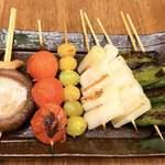 119814158 - 野菜串