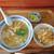 琴吹食堂 - 料理写真:カツ丼とラーメンセット 780円