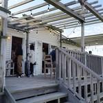 ビストロアンドカフェ タイム - お店、外観。