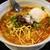 虎穴 - 料理写真:担々麺、温泉玉子のせ