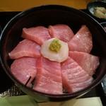 119824351 - 本鮪中トロ丼(土曜日限定)