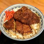 一寸亭 - ソースカツ丼 ¥900