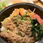 韓美膳 - カルビ石焼ビビンバ