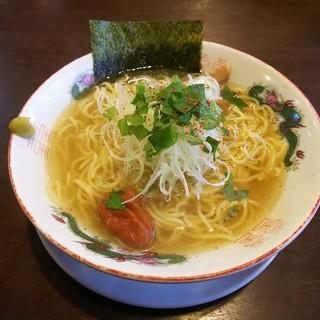 麺屋 ぜん - 料理写真:塩梅ラーメン790円