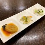 マヌエル・カーザ・デ・ファド - 前菜3種盛り