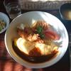 あけぼの - 料理写真:オムライスプレートC¥1300+税