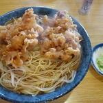 かねさく - 天ぷら蕎麦大盛(\970)
