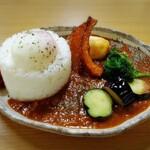 スープカレーわたなべ - 粗挽き牛豚鶏キーマカレー