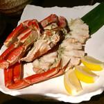 海老の髭 - ◆大鉢:茹で本ずわい蟹