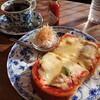壱心茶屋 - 料理写真:ピザトーストセット