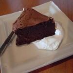 カフェ・ポステン - ガトーショコラみたいなケーキ