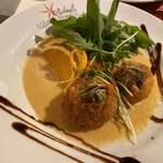 イタリア食堂 イルキャンティ河口湖 - フジツボフリット