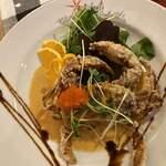 イタリア食堂 イルキャンティ河口湖 - ソフトシェルクラブの唐揚げ