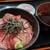 さらしな - 料理写真:天然中トロ丼