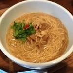 台湾茶房 e~one - 「台湾麺線 ハーフ」