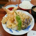 119847307 - 天ぷら定食