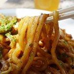 まことや - 割り箸に匹敵する太麺!