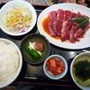いちばん - 料理写真:カルビ・ハラミ定食
