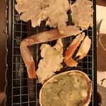 海食 うお貞 - 焼き蟹