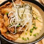 kawara CAFE&KITCHEN - 牛焼き肉とトロロのスタミナ丼