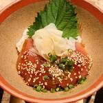 kawara CAFE&KITCHEN - 漬けマグロ丼