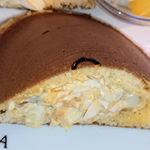 119854131 - ホットケーキのたまごサンド