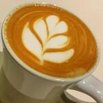 マヌコーヒー - ピーナッツラテ