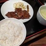 杉作 - 牛タン定食