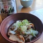 松月庵 - 料理写真:もつ煮